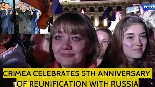 Huge Celebrations! Putin Gives Emotional Speech That Made Russians Cry