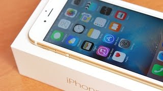 Unboxing, Setup & First Impressions: iPhone 6s (64GB Gold)