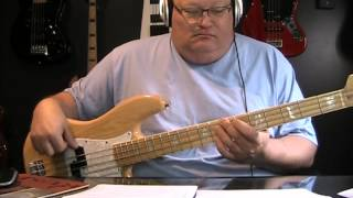 Styx Miss America Bass Cover with Notes & Tablature