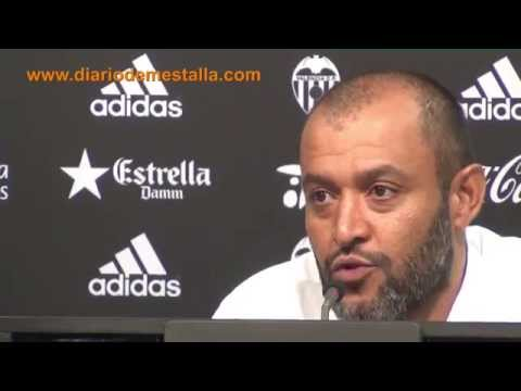 Rueda de prensa de Nuno post Málaga