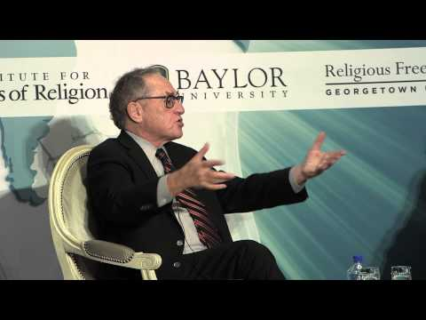 Alan Dershowitz on the Separation of Church and State