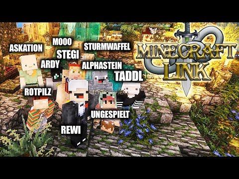 MINECRAFT LINK - Das Abenteuer beginnt ! (Mit Taddl, Unge, Alphastein...) thumbnail