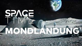 Aufbruch zum Mond - Mondlandung 2.0 | SPACETIME Doku