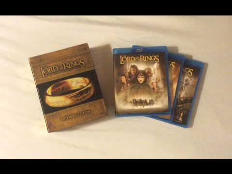The lord of the rings: extended edition trilogy (2001-2003) blu.