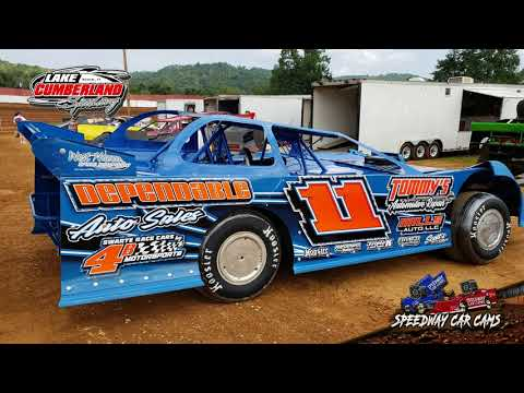 #11 Tommy Bailey - Super Late Model - 8-25-18 Lake Cumberland Speedway - In Car Camera