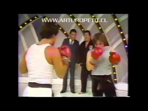 Arturo Petit ,Fumio Demura , Benny Urquidez   Blinki Rodriguez  Sabados Gigantes