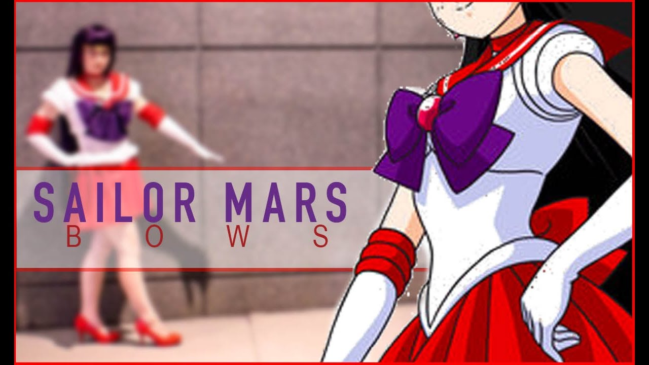 Sailor Mars Cosplay Bows  sc 1 st  YouTube & Sailor Mars Cosplay: Bows - YouTube