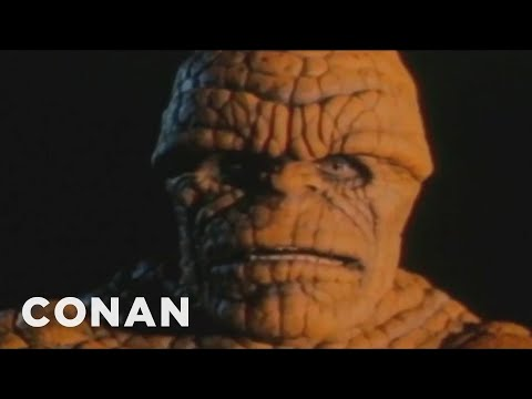 "Fantastic ""Fantastic Four"" Clips  - CONAN on TBS"