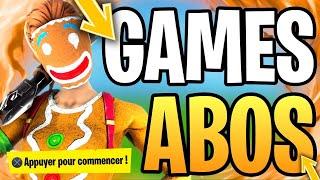 ABONNES GAMES - NEW SKIN - DISPO ON FORTNITE BATTLE ROYALE!!