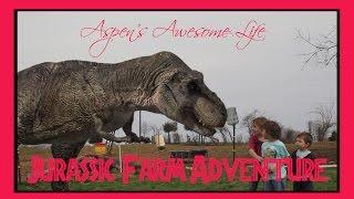 Jurassic World Farm Dinosaur Attack