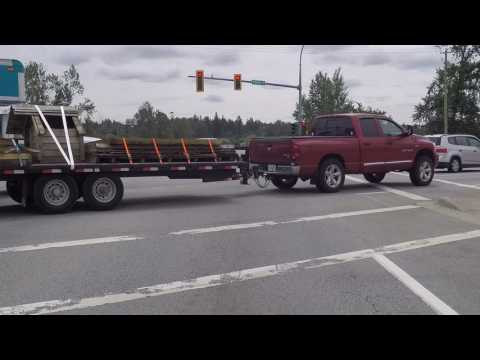 Driving In Surrey British Columbia (BC) Canada - Fraser Highway - Route To Langley