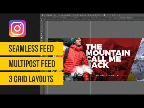 Cara Membuat Feed Instagram Keren | Adobe Photoshop Indonesia