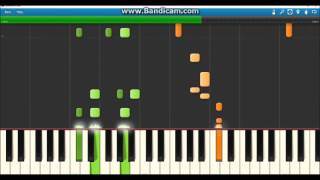 Hey Baby By Dimitri Vegas & Like Mike vs Diplo - Piano Tutorial (Synthesia)