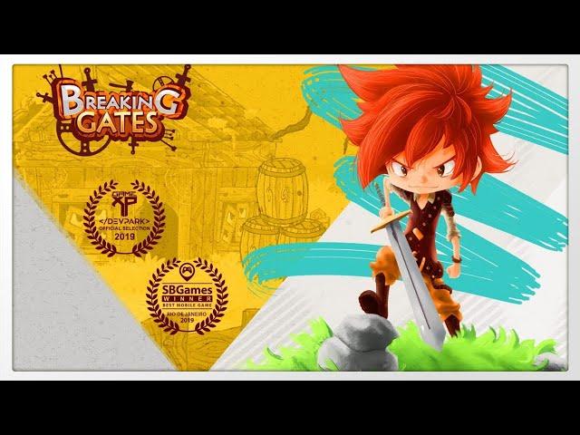 Breaking Gates - Gameplay 720p60fps Pt-Br