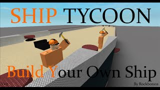 Roblox Ship Tycoon