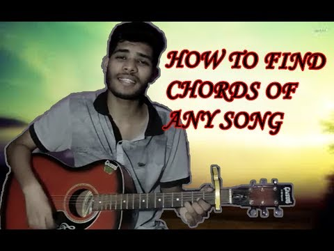 How to find chords of any song {tutorial) By Nikhil Sagar - YouTube