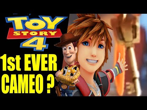 Kingdom Hearts Cameo In Toy Story 4 ?