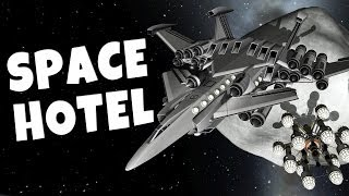 KSP - Operation Pet Asteroid #4 - Space Hotel