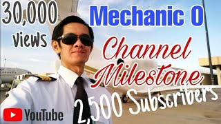 "Mechanic ""O"" channel milestone"