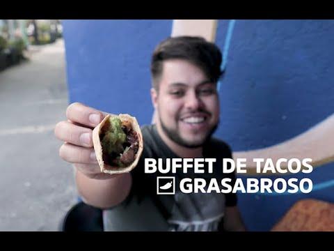 Éntrale al buffet de tacos norteños en la Doctores #GRASABROSO