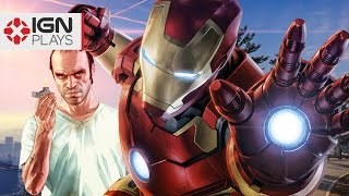 iron man mod in gta 5 ign plays