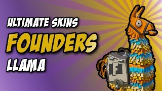 FOUNDERS Llama Pay to Skin Opening! - Fortnite PvE