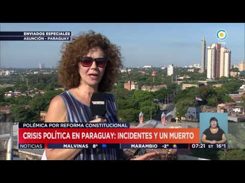 TV Públicas Noticias - Crisis en Paraguay: Incidentes, represión y muerte
