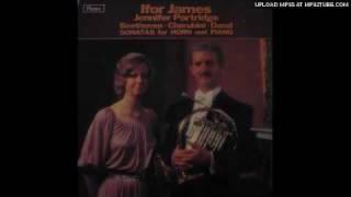 Gambar cover Ifor James plays Cherubini sonatas 1 & 2 in F Major. Lp record.