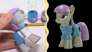 CUSTOM My Little Pony MAUD PIE Tutorial MLP Toy DIY | SweetTreatsPonies thumbnail