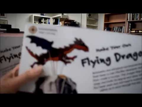 MAKE YOUR OWN FLYING DRAGON: Wooden Automata
