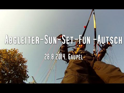 Fun Sunset Abgleiter Autsch