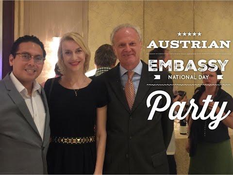 Manila Nightlife: Austrian Embassy National Day Celebration Party Dusit Hotel Makati