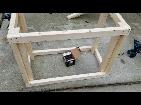 DIY Terrarium and Vivarium Stand - Part 1