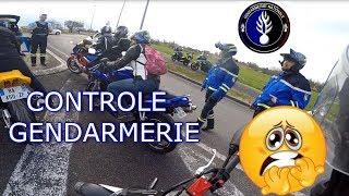 CONTROLE DE GENDARMES SUPER SYMPA !!!