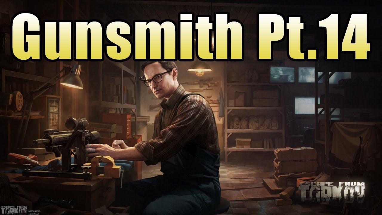 How To Complete Gunsmith Part 14 Escape From Tarkov Patch 0 12 Youtube How to complete gunsmith part 1. how to complete gunsmith part 14 escape from tarkov patch 0 12