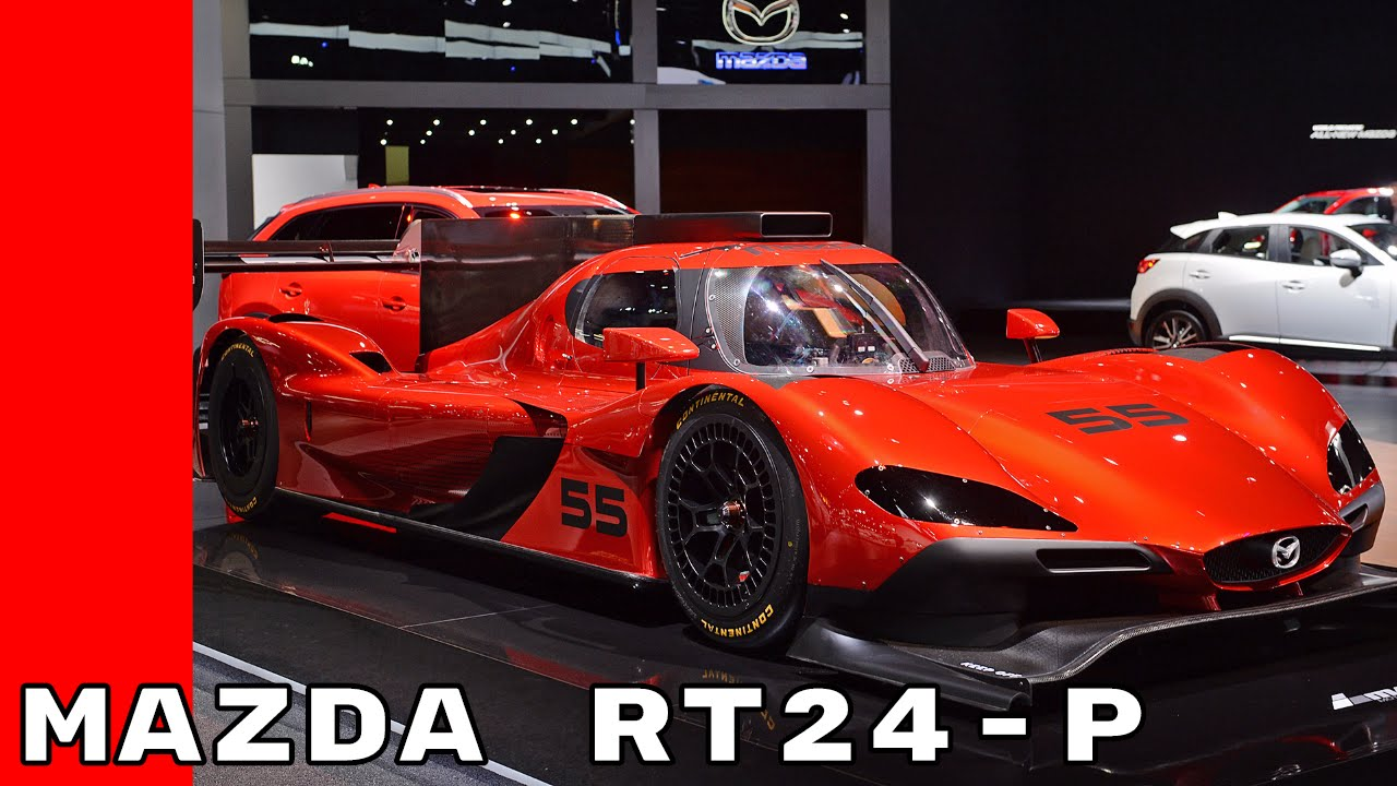 2017 Mazda RT24 P Prototype Race Car