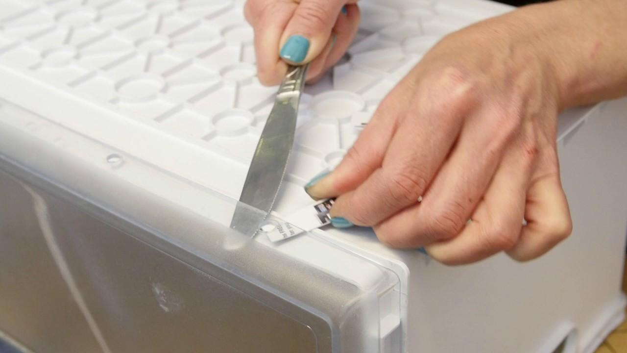 facade de tiroir congelateur merloni