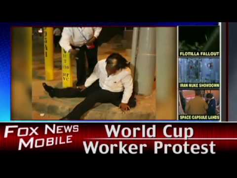 World Cup Worker Protest
