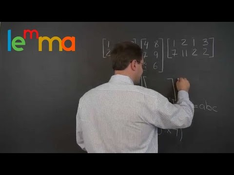 Linear Algebra 11j: The Associative Property (a.k.a. Associativity) of Matrix Multiplication