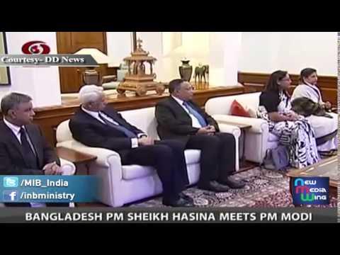 Bangladesh PM Ms. Sheikh Hasina meets PM Shri Narendra Modi