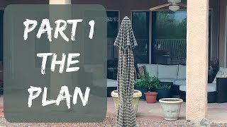 Back Patio Makeover Project - First Ideas & Planning