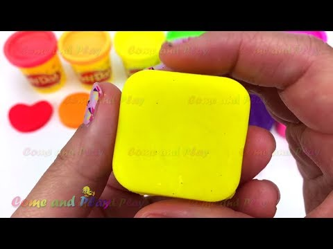 Thumbnail: Learn Colors Play Doh Popsicle Ice Cream Peppa Pig Disney Minnie Mouse Shapes M&M Surprise Toys