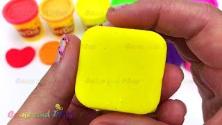 Learn Colors Play Doh Popsicle Ice Cream Peppa Pig Disney Minnie Mouse Shapes Surprise Toys