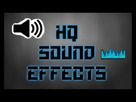 LOUD BOOM! sound effect HQ
