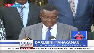 JSC yatoa pendekezo kwa Rais Kenyatta ili Jaji Jackton Ojwang\' achunguzwe