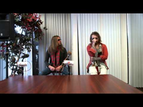 Danny Worsnop And Jeff George We Are Harlot Interview