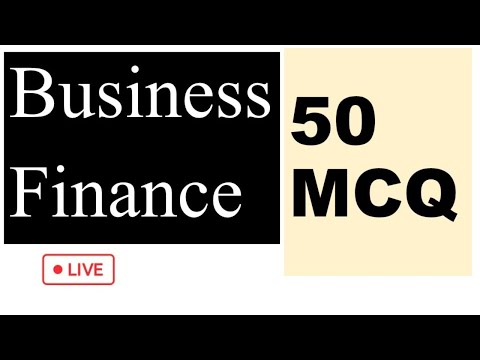 Business Finance 50 mcq || NTA-UGC Net Sept 2020