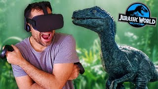 JURASSIC WORLD (La Experiencia de Realidad Virtual) | Blue #2