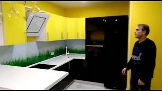 видео Желтая кухня (35 фото): дизайн интерьера, выбор цвета стен, обоев, кухонного гарнитура