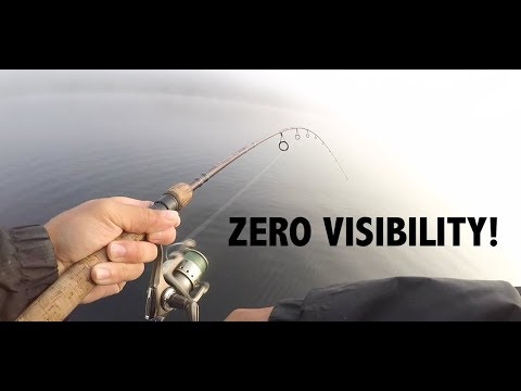 Catching Whitefish In THICK FOG! --- Fishing Muskoka, Ontario